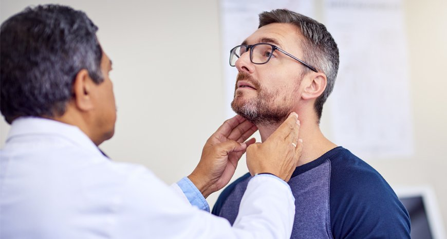 man-getting-health-check-up