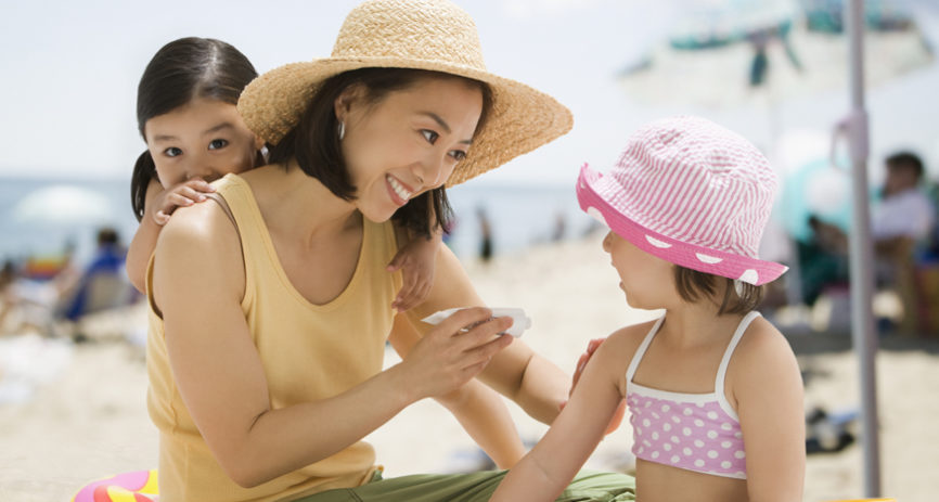 skin cancer prevention by family
