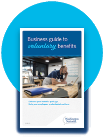 A downloadable business guide on voluntary benefits.