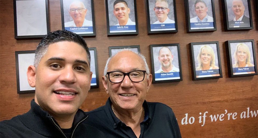 Meet Luis Cruz and Luis G. Cruz, father and son Washington National agents!