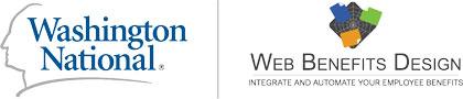 Washington National and Web Benefits Design Logos